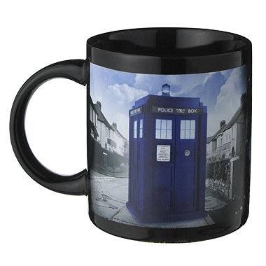 Doctor Who Heat Reveal Mug