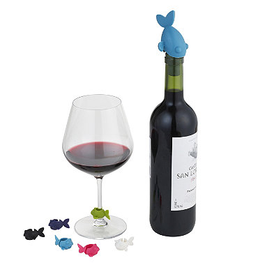 Umbra® Guppy Wine Charms