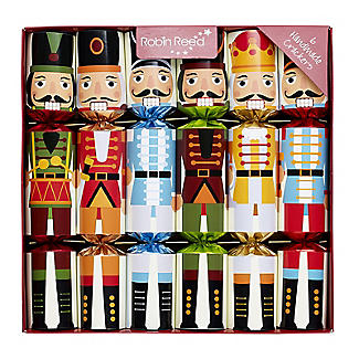 Nutcracker Christmas Crackers - Pack of 6