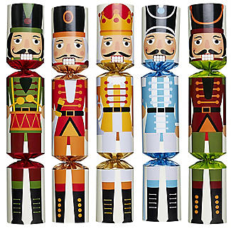 Nutcracker Christmas Crackers - Pack of 6 alt image 3