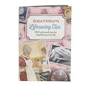 Grandmas Book Life Saving Tips