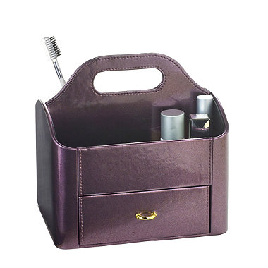 Purple Make Up Caddy