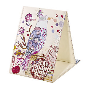 Beautiful Birds Tri-fold Mirror