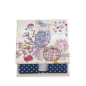 Beautiful Bird Jot Box