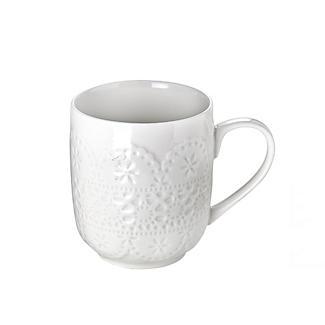Vintage Teatime Porcelain Mug alt image 2
