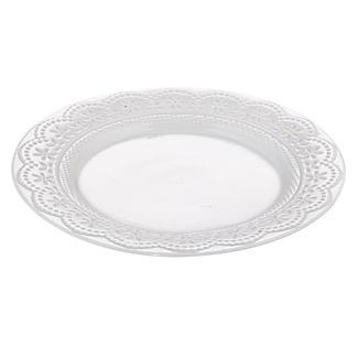 Vintage Teatime Porcelain Tea Plate alt image 2