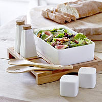 Porcelain Salad Serving Set