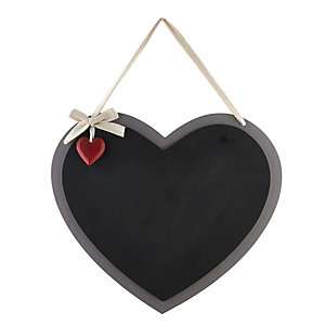 Heart Shaped Blackboard