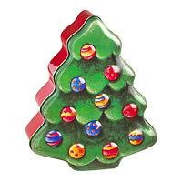 Christmas Tree Tin