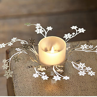 Snowflake Tealight Holder