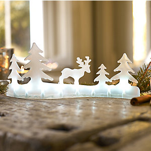 Light-Up Winter Scene