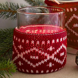 Winter Woollies Tealight Holder