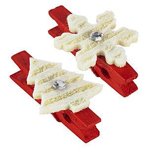 12 Festive Mini-Pegs