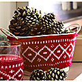 3 Winter Woollies Festive Pails Decorations