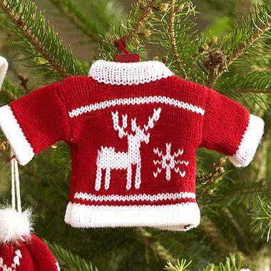 Winter Woollies Jumper Decoration