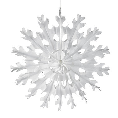 Fold-Out Paper Snowflake