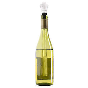 Chill Core 3 in 1 Wine Bottle Chiller, Stopper & Pourer