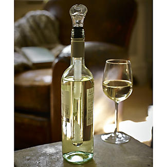 Chill Core 3 in 1 Wine Bottle Chiller, Stopper & Pourer alt image 5