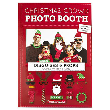 Christmas Crowd Photo Booth Kit