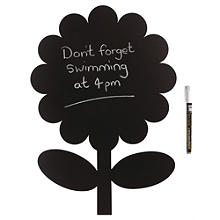 Flower Chalk Board