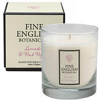 Fine English Lavender and Pink Pepper Candle