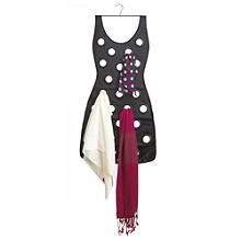 Umbra® Little Black Dress Scarf Holder