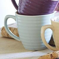 Paisley Mug Aqua