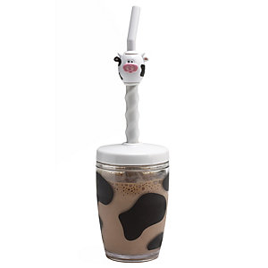 Moo Moo Milk Mix Milkshake Maker & Straw