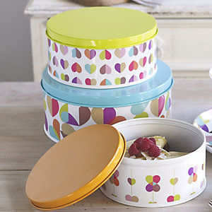Broken Hearted Cake Tins