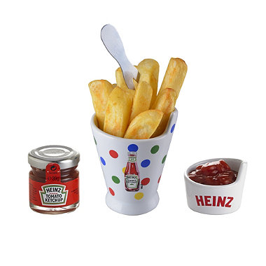 Heinz Chip Dipping Pot Set