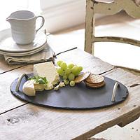 Oval Slate Tray