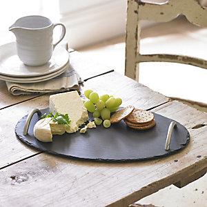 Artesa Oval Slate Platter