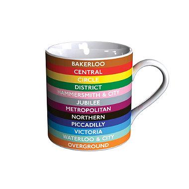 Underground Lines Mug