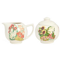 Kew Gardens Milk Jug & Sugar Bowl