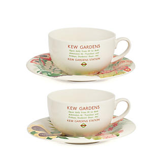 Kew Gardens Tea Cup and Saucer set of two