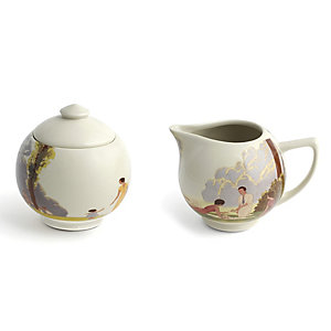Kew Gardens Andre Marty Milk Jug and Sugar Bowl Set