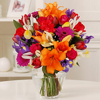 Bright Bouquet with free express delivery alt image 1