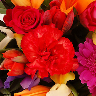 Bright Bouquet with free express delivery alt image 2
