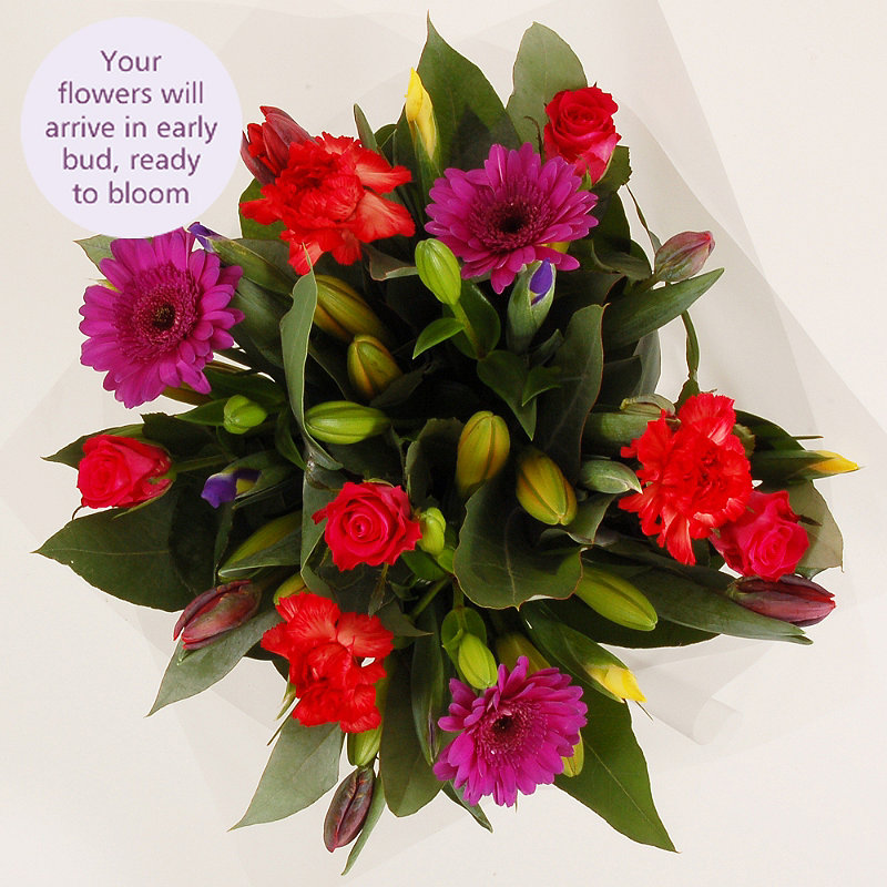 Bright Bouquet with free express delivery