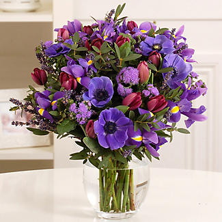 Lavender Bouquet with free express delivery alt image 1