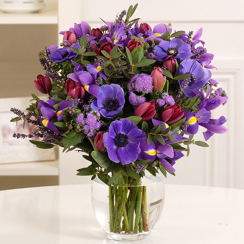Lavender Bouquet with free express delivery