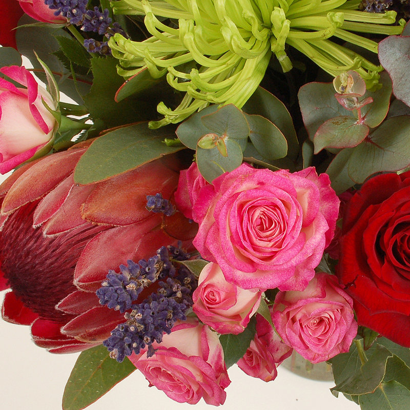 Kitchen Bouquet Substitute: Protea Bouquet With Free Express Delivery In Flowers At