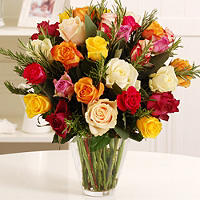 Rose and Rosemary Bouquet with free express delivery