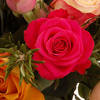 Rose and Rosemary Bouquet with free express delivery alt image 2