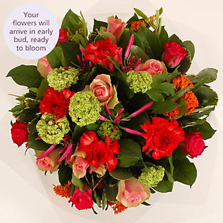 Bright Spring Bouquet with free express delivery alt image 3