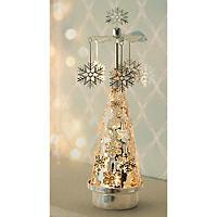 Snowflake Tealight Carousel