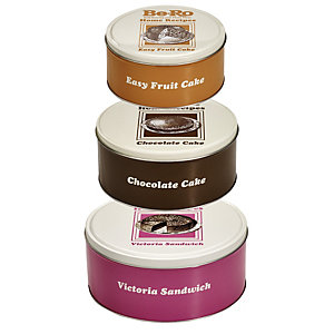 Be-Ro 3 Nested Cake Tins