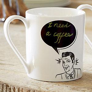 He Says Mug