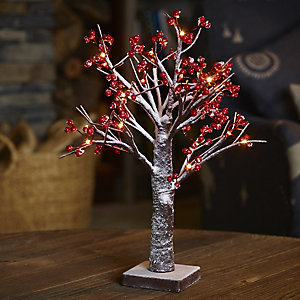 LED Winter Berry Tree