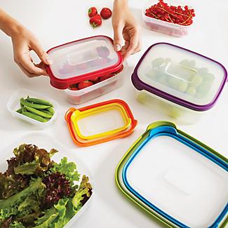 Joseph Joseph Nest Storage 6 Piece Food Container Set Multi Colour alt image 3